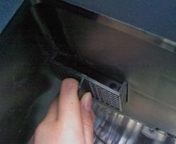 生ごみ処理機バイオクリーン 排気フィルターの取り外し
